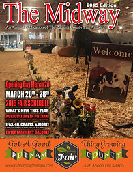 2015 The Midway Magazine annual publication of the Putnam county Fair in East Palatka, Putnam County, Florida, FL