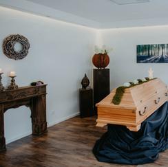 Raum der Erinnerung Bestattungen Zapatka