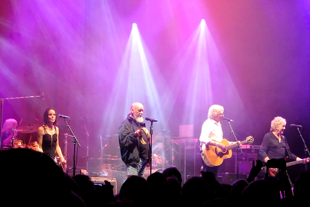 The Moody Blues & Michael Eavis