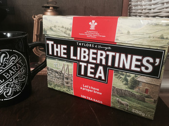 Win The Libertines' Yorkshire Tea Box and help BBC Children in Need