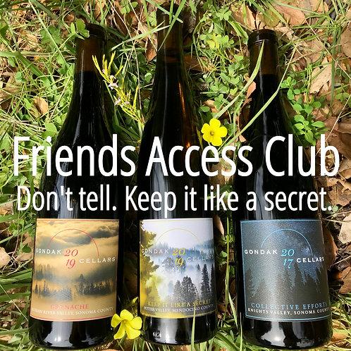 Friends Secret Access Club 2020