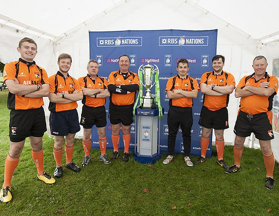Norfolk Referees and Six Nations Trophy