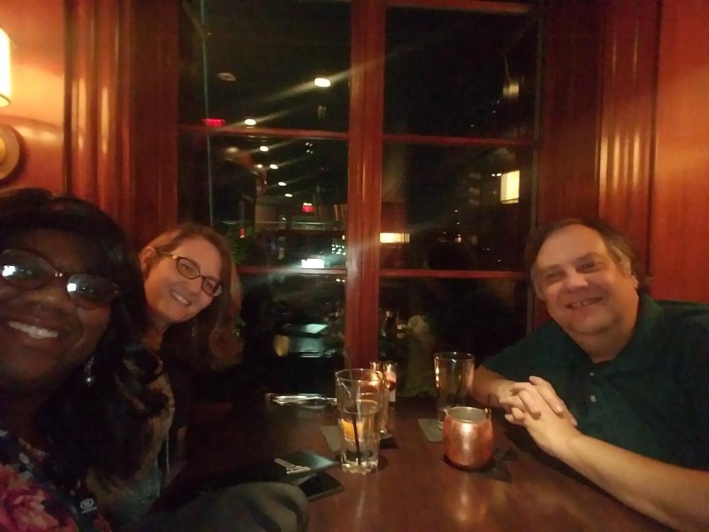 Dinner with Tara & George