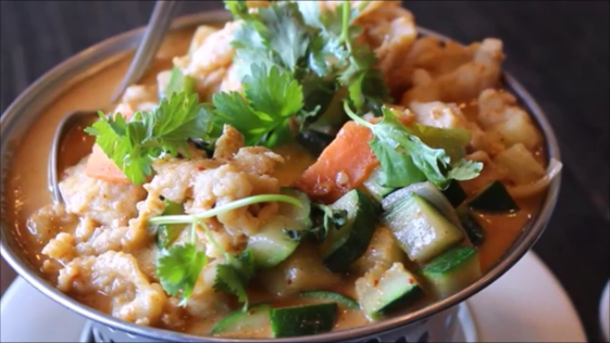 Red Curry from Black Pearl Asisan Cusine