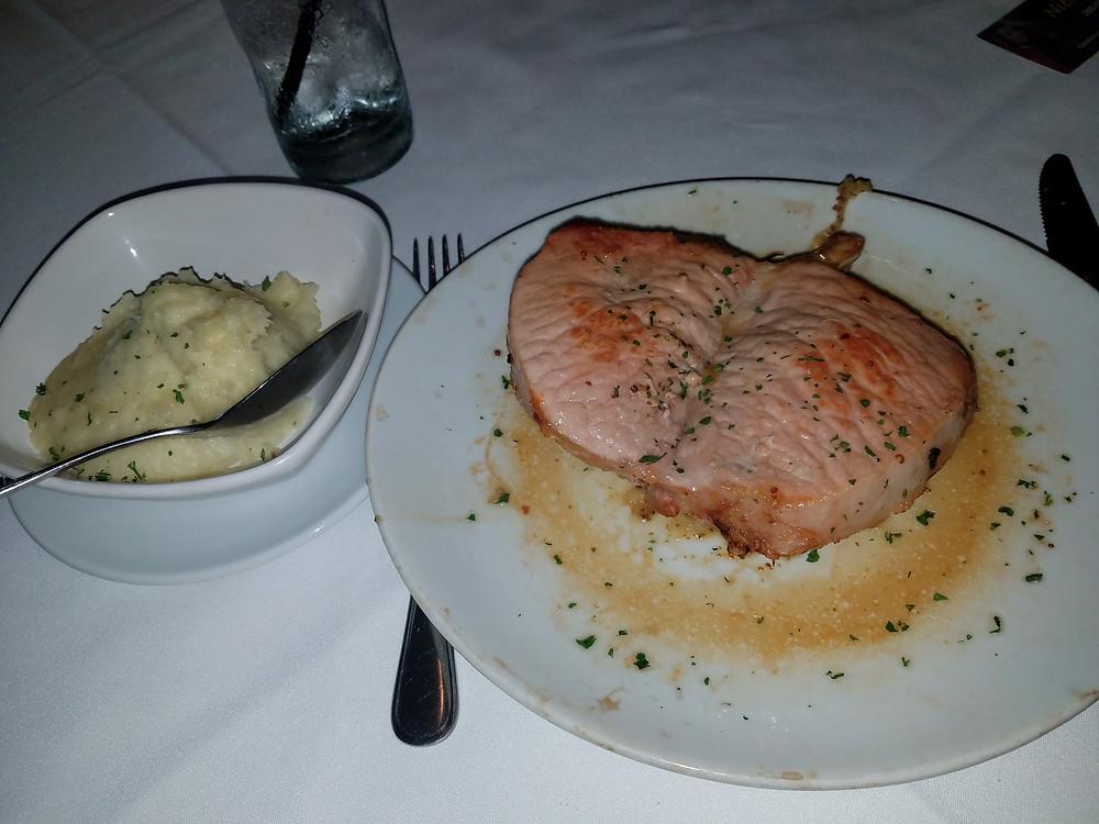 Double Pork Chops