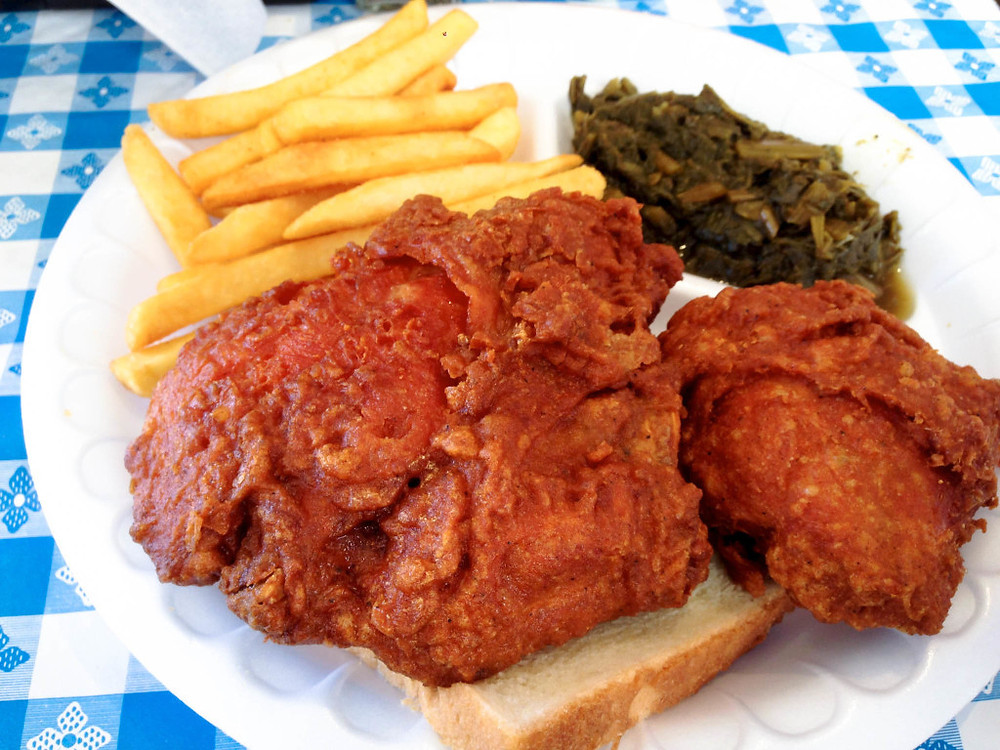 Gus's Fried chicken 2 piece