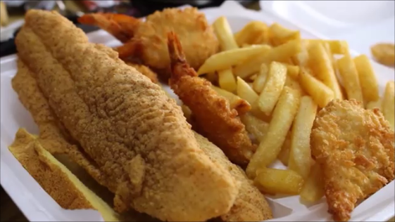 Fish from the Golden Rooster