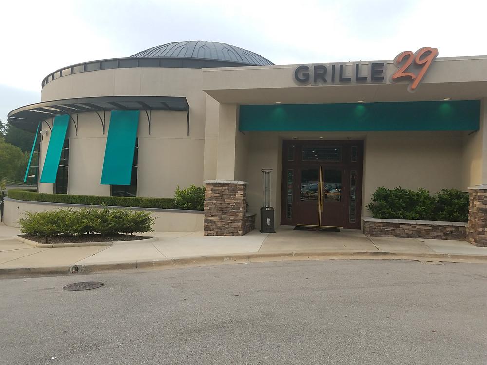 Grille 29 Birmingham Location
