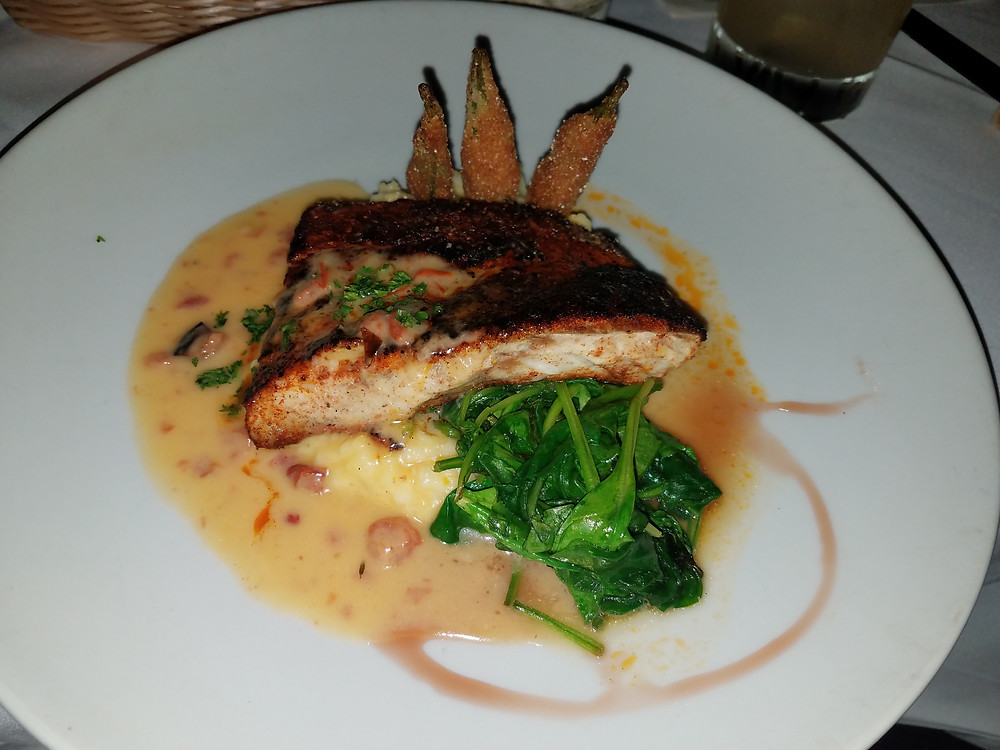 Blackened Louisiana Redfish Bistro 218