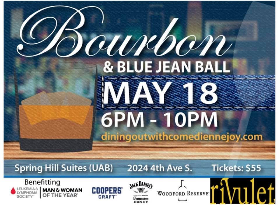 Blue Jean Bourbon Ball