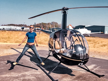 Meet Olga, Russian Helicopter Pilot