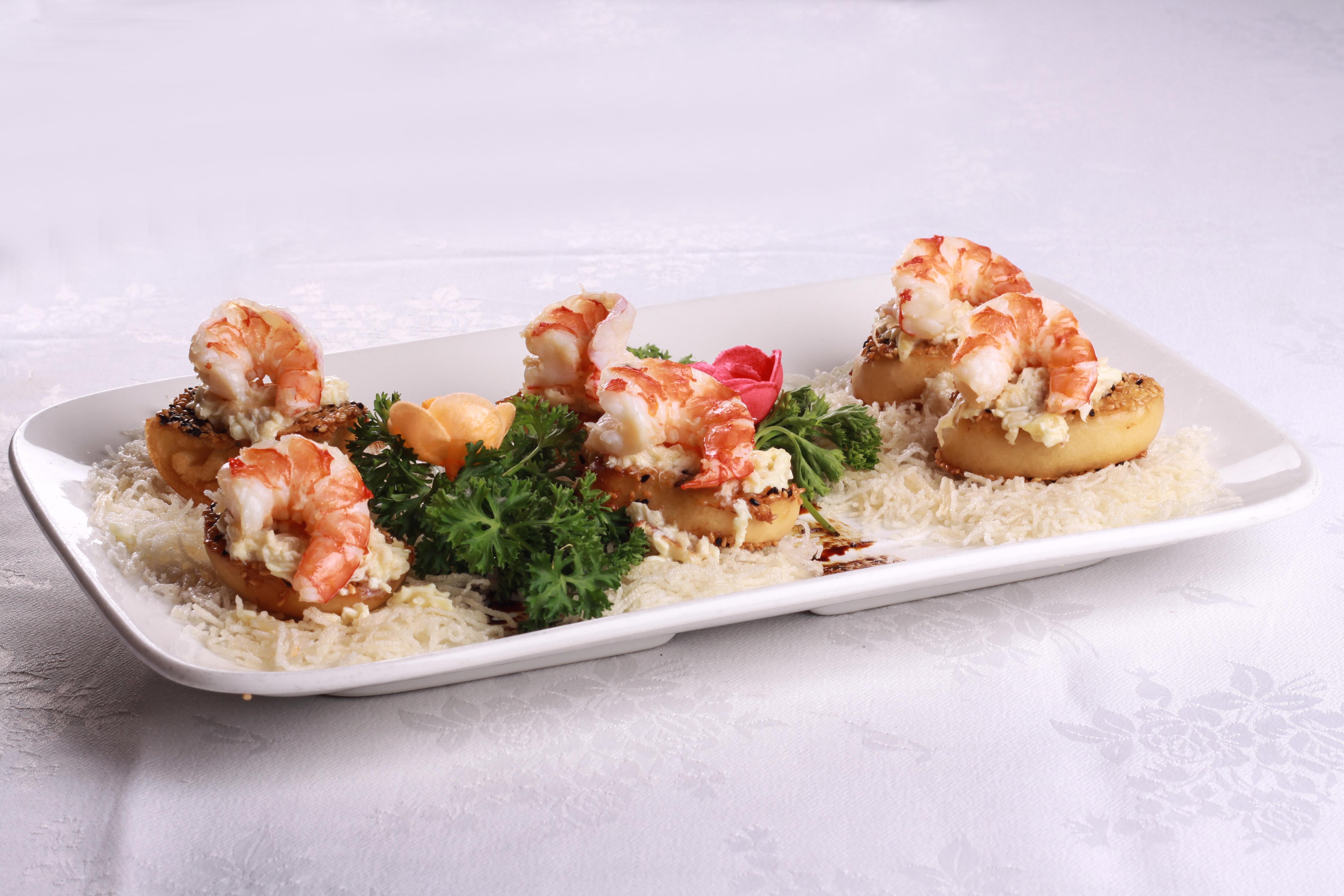 葡式多士虾 (5件起)