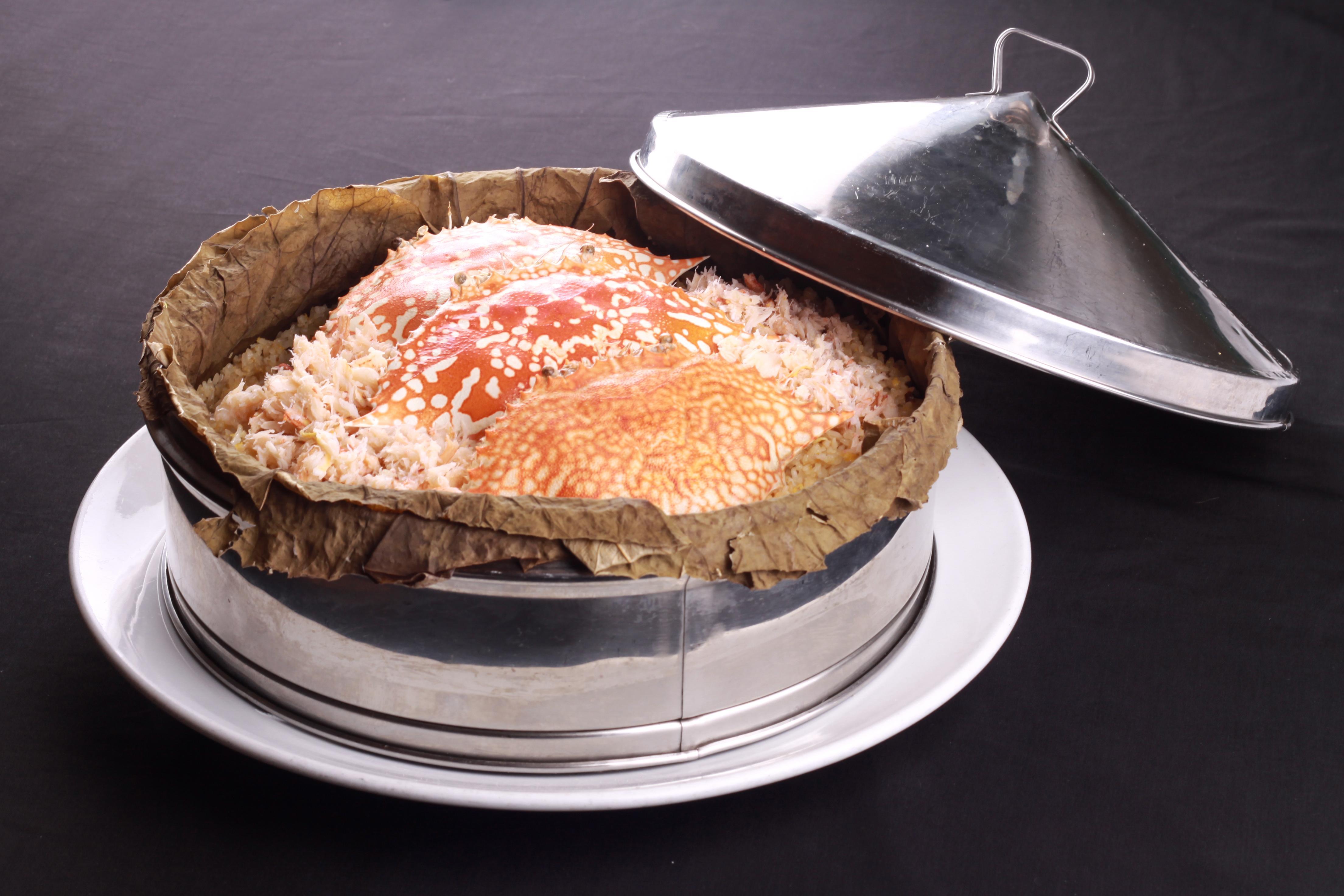 禾田蟹肉饭