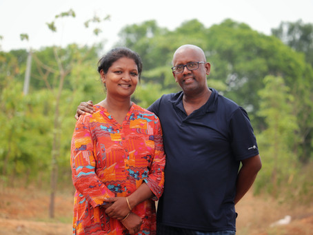 This Hyderabad couple is trying to revive the tradition of eating on leaves