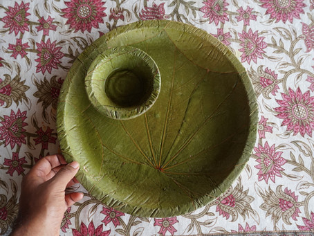 Vistaraku: How Telangana's start-up is taking traditional Indian leaf plates to the world
