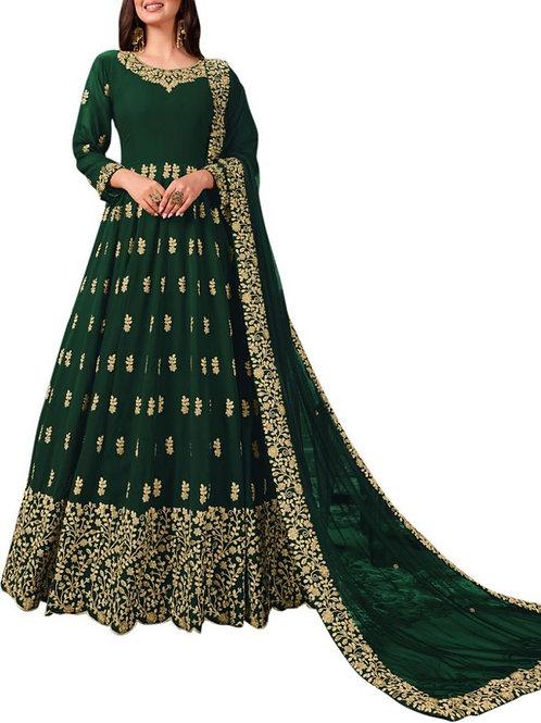 Fabulous Dark Green Bridal Gowns
