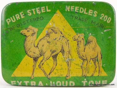 CAMEL SCENE Gramophone Needle Tin