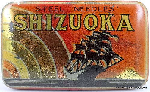 SHIZUOKA Gramophone Needle Tin