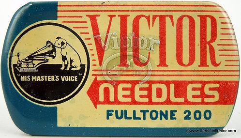 VICTOR Gramophone Needle Tin