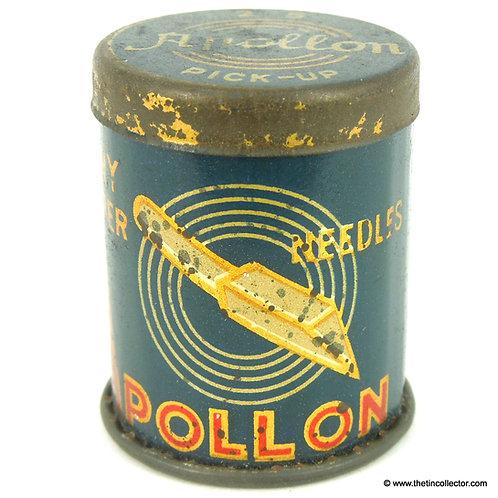 APOLLON Gramophone Needle Tin (Bamboo Needles)
