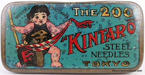 The KINTARO Gramophone Needle Tin