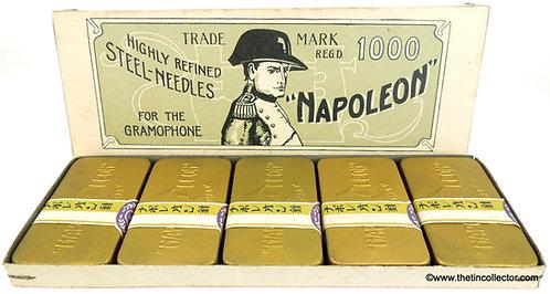 NAPOLEON Gramophone Needle Tin - 1000 Box Set