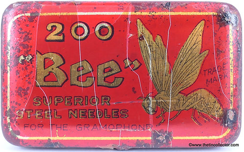 BEE Gramophone Needle Tin