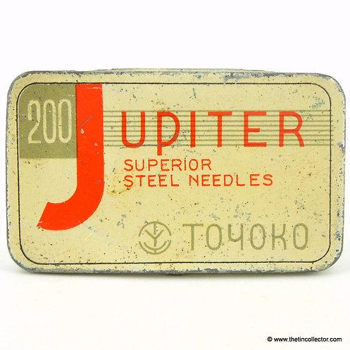 JUPITER Gramophone Needle Tin