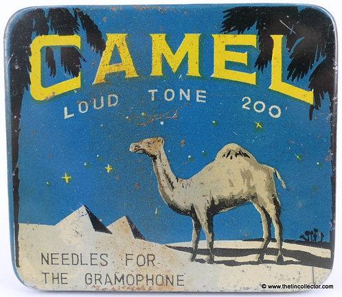 CAMEL Gramophone Needle Tin