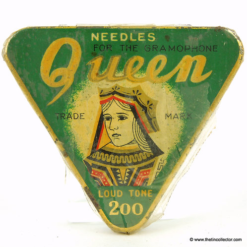QUEEN Gramophone Needle Tin - Factory Sealed