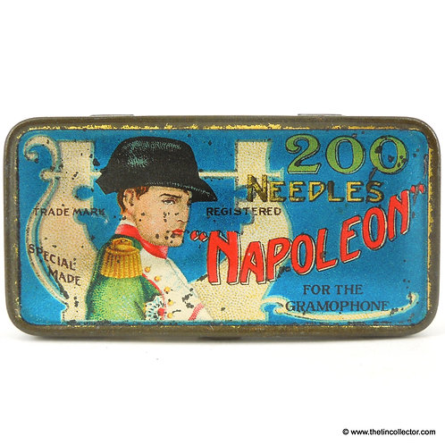 NAPOLEON Gramophone Needle Tin