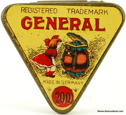 GENERAL Gramophone Needle Tin