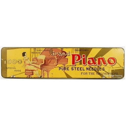 Large PIANO Gramophone Needle Tin (1000 size)