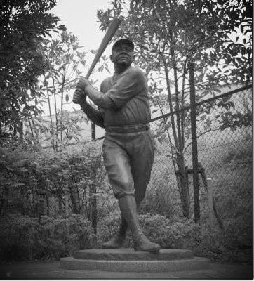 Babe Ruth Satue - Sendai City, Japan
