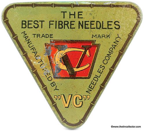 VC Fibre Gramophone Needle Tin
