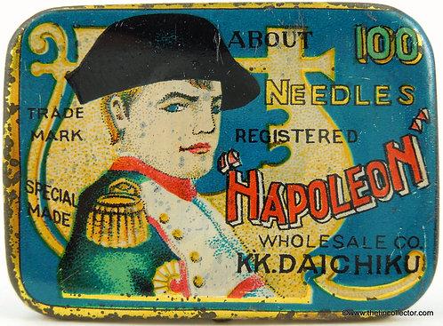 NAPOLEON Gramophone Needle Tin - Small 100 Size