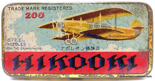 HIKOOKI Gramophone Needle Tin (200 size)