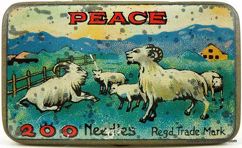 PEACE Gramophone Needle Tin
