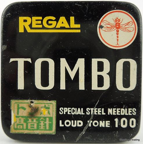 TOMBO Gramophone Needle Tin