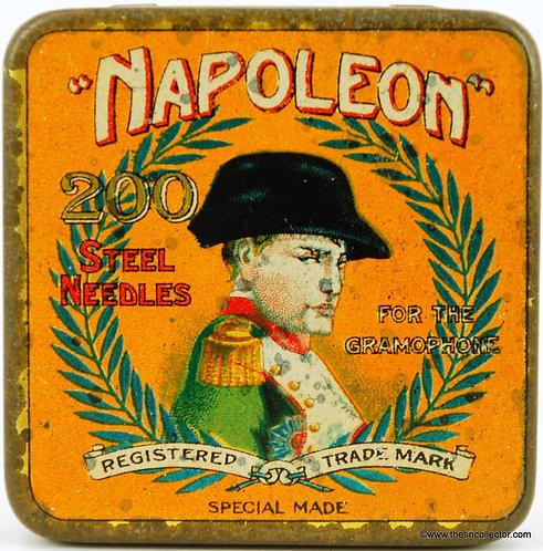NAPOLEON Gramophone Needle Tin (Small Version)
