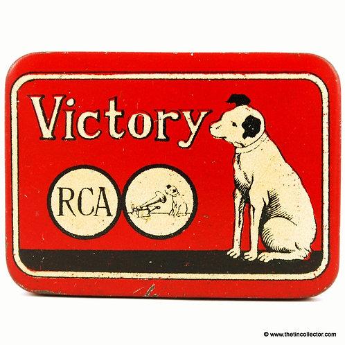 VICTORY Gramophone Needle Tin