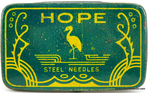 HOPE Gramophone Needle Tin