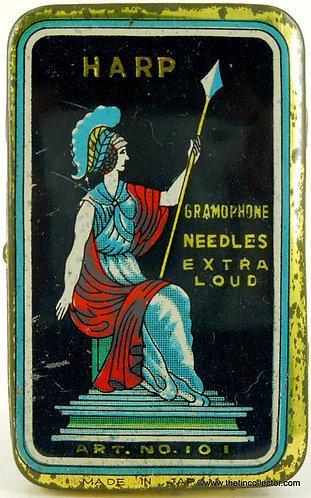 HARP Gramophone Needle Tin