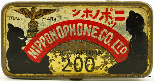 NIPPONOPHONE Gramophone Needle Tin