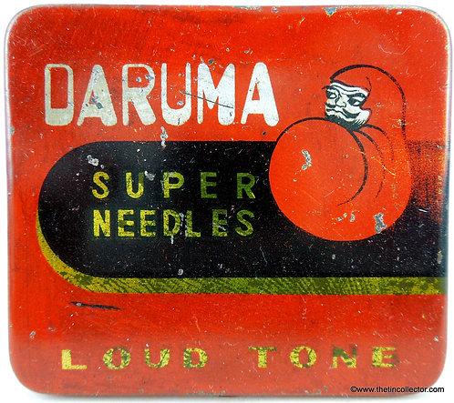 DARUMA Gramophone Needle Tin