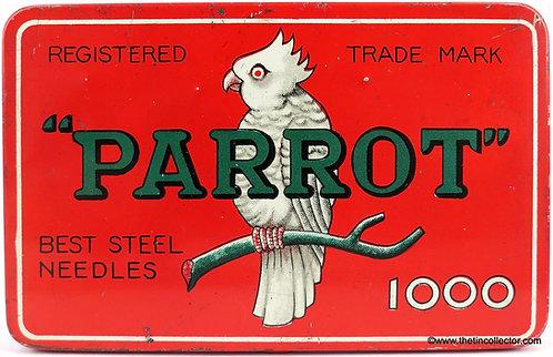 PARROT Gramophone Needle Tin (Large 1000 size)