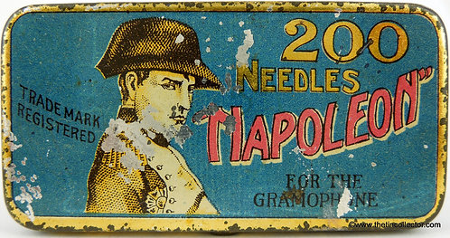 NAPOLEON Gramophone Needle Tin (Unusual Version)