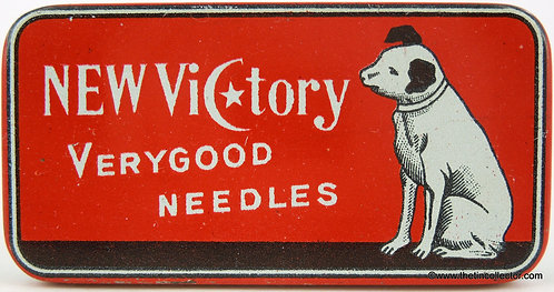 NEW VICTORY Gramophone Needle Tin
