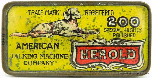 HEROLD Gramophone Needle Tin