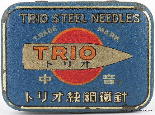 TRIO Gramophone Needle Tin